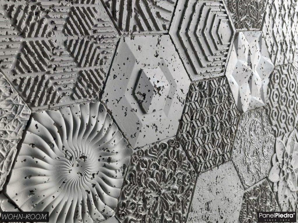 wandverkleidung_beton_hexagonal_panelpiedra_wohn-room