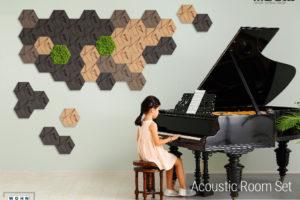 wandverkleidung_kork_43_teile_hexagon_set_winter_special_acoustic_room_muratto_wohn-room